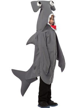 Hammerhead Shark Boy's Costume