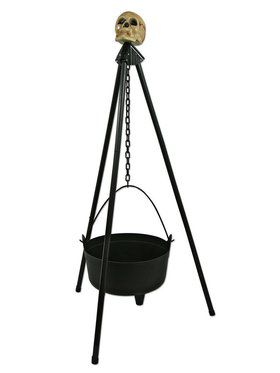 Hanging Cauldron with Stand Prop
