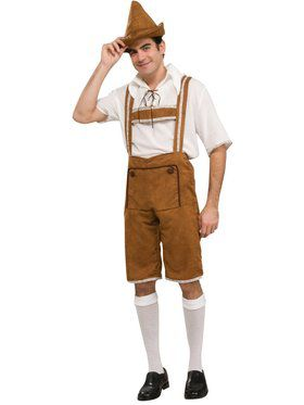 Adult One-Size-Fits-All Hansel Costume