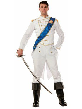 Happily Ever After Prince Adult Costume