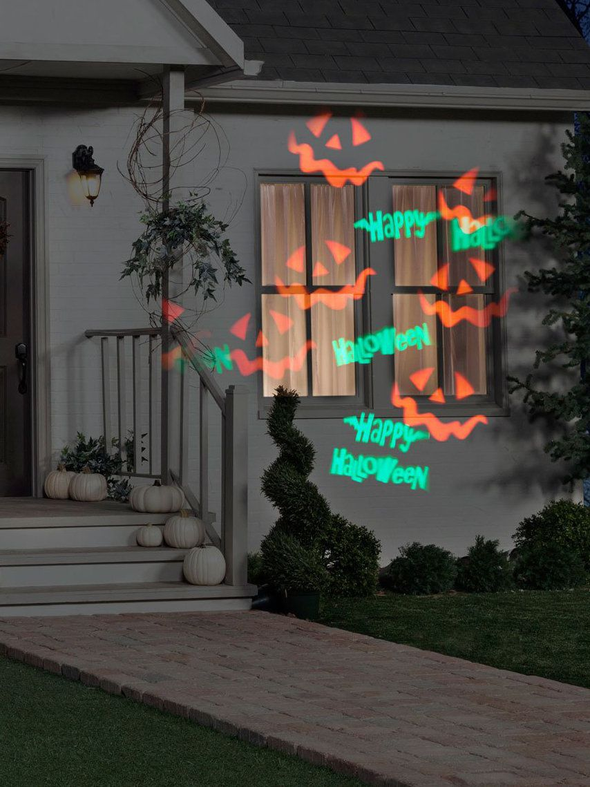 Happy Halloween Whirl A Motion With Strobe Projection Light