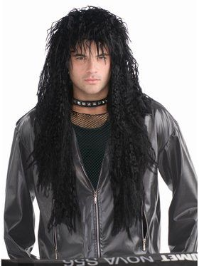Hard Rocker Wig Black Accessory