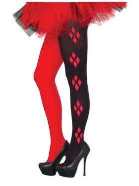Harley Quinn Tights For Adults