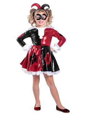 Harley Quinn Premium Child Dress