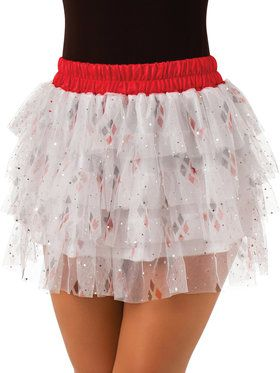 Harley Quinn Adult Tutu Skirt Costume