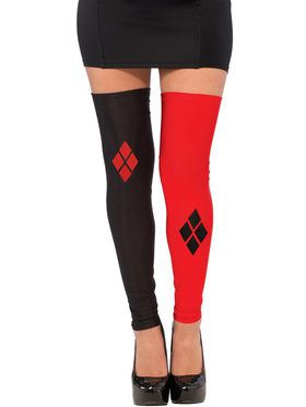 Harley Quinn Thigh High Stockings For Women