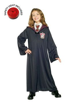 Harry Potter Gryffindor Robe Costume For Children