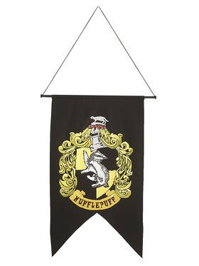 Hufflepuff Harry Potter Printed Wall Banner