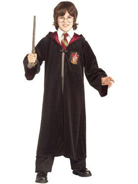 Harry Potter Premium Gryffindor Robe Costume For Children
