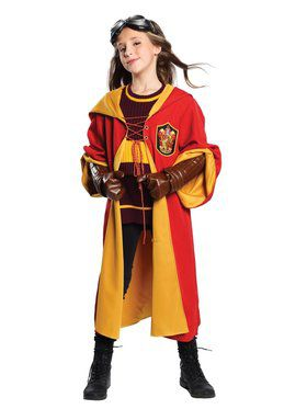 Child's Gryffindor Quidditch Team Costume