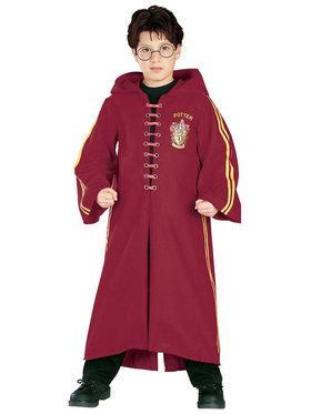 Harry Potter Quidditch Robe Super Deluxe Costume For Children
