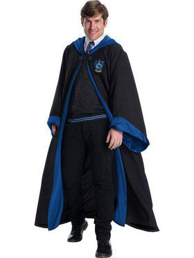 Adult's Plus Size Ravenclaw Hogwarts Student Costume Kit
