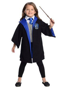 Toddler's Ravenclaw Hogwarts Student Costume Kit