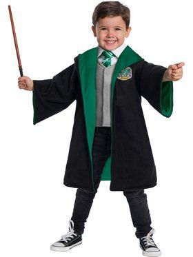Toddler's Slytherin Hogwarts Student Costume Kit