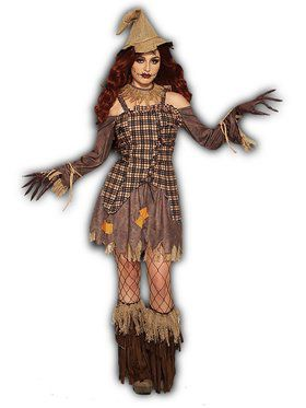 Harvest Scarecrow Female Costume
