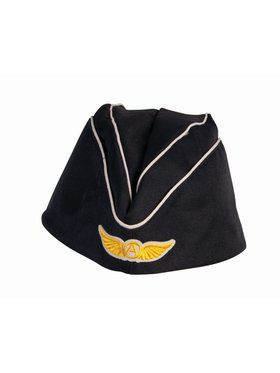 Adult Flight Attendant Hat Accessory