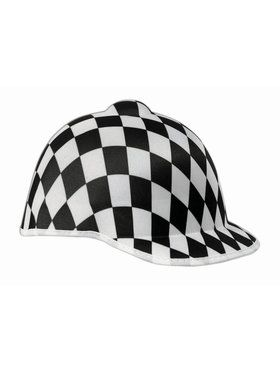 Jockey Black Check Adult Hat