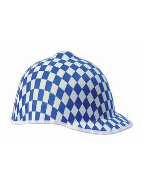 Jockey Blue Check Adult Hat