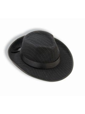 Pinstriped Fedora Adult Accessory
