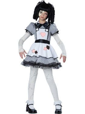 Haunted Doll Girl's Costume