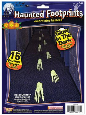 Haunted Footprints Decoration