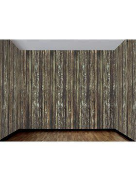 Haunted House Rotted Wood Wall Decoration