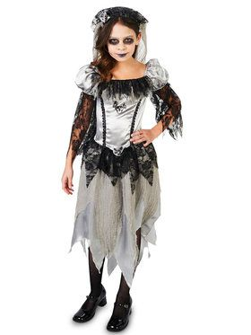 Haunted Princess Bride Costume For Children