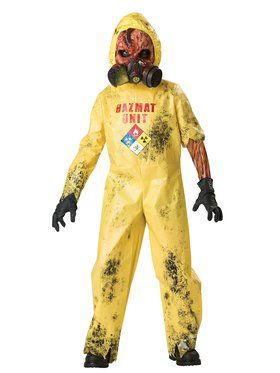 Hazmat Hazard Costume for Boys