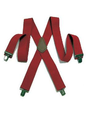 Heavy Duty Santa Suspenders Adult