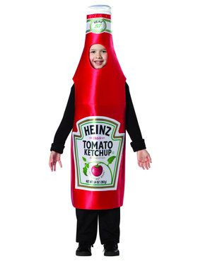 Heinz Classic Ketchup Costume for Kids