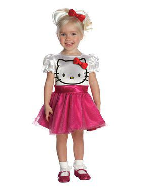 Hello Kitty Dress Girl's Toddler Costume