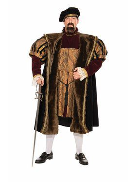 Henry VIII Large Adult Costume