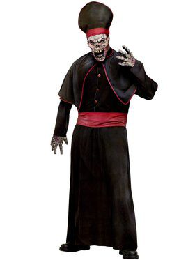 High Priest Zombie Adult Costume