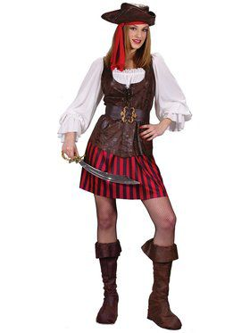 High Seas Buccaneer Adult Costume