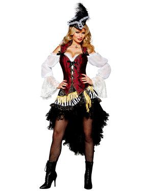 High Seas Treasure Elite Pirate Costume