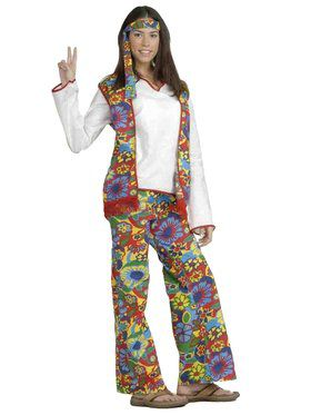 Womens Hippie Dippy Costume