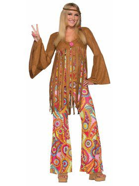 Adult Hippie Groovy Sweetie Costume