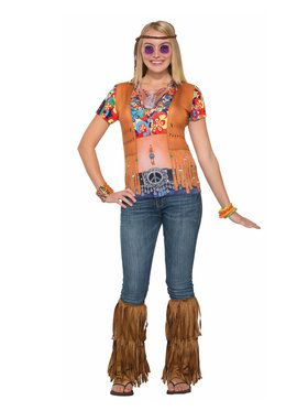 Hippie Lady Women's Costume