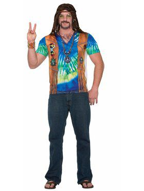 Hippie Man Men's Costume