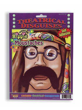 70's Mens Hippy Moustache