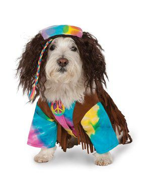 Pet Hippie Costume