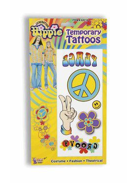 Peace and Love Hippie Tattoos