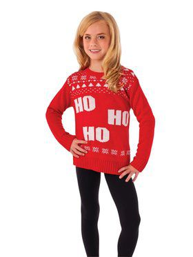Ho Ho Ho Costume Sweater