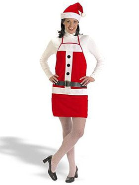 Holiday Apron and Hat Costume