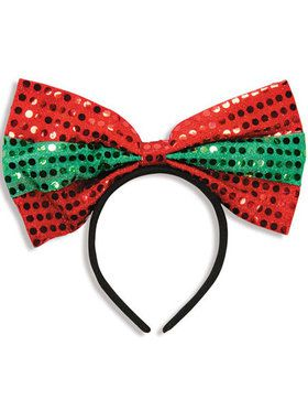 Holiday Big Bow Headband