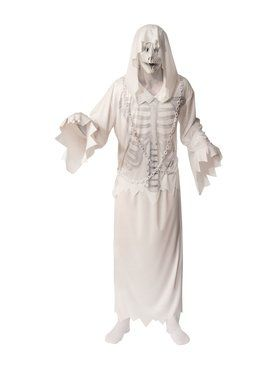 Hooded Ghost Costume for Adults