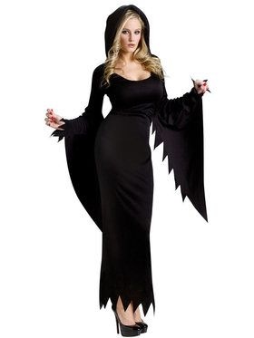 Hooded Gown Costume For Adults