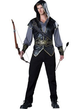 Hooded Huntsman Mens Costume