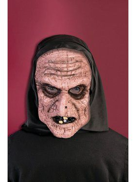 Hooded Old Lady Promotional Mask