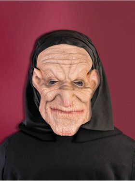 Hooded Old Man Promotional Mask